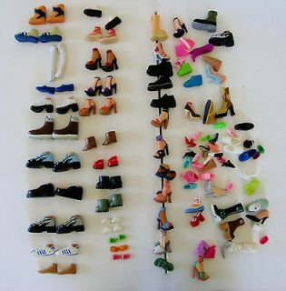 OF 118 Barbie, Monster High, Bratz, Mini Doll & Other Misc Doll Shoes
