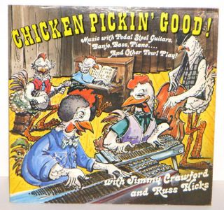 Chicken Pickin Good LP RECORD Pedal STEEL GUITAR & Other Fowl Play