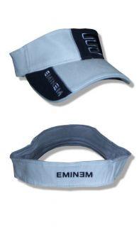 Eminem  NEW E Logo Black / Gray Visor Hat / Cap  OSFA