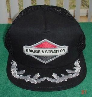 Vtg Briggs Stratton Laurel Snapback Mesh Hat Cap Very Clean  Texas