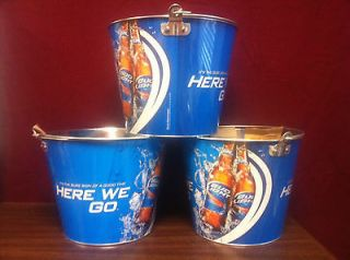 Bud Light  Here We Go  5 quart Ice Bucket   New