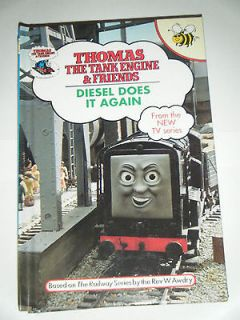 Does It Again * Thomas the Tank Engine Buzz Book No 38 * Collectible
