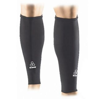 MCDAVID 6577 BLACK TRUE COMPRESSION CALF LEG SLEEVES THERMAL SUPPORT