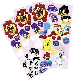 BABY LOONEY Tunes Scrapbook Stickers Bugs Bunny Sylvester Daffy
