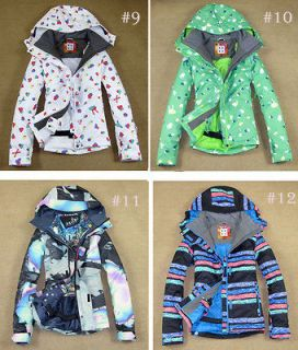 Lady Ski Jacket Snowboard Coat Snow Parka Girl Waterproof 8k (XS S M L