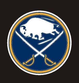 Buffalo Sabres NHL, Mini Decal Sticker 1 1/2 #25c