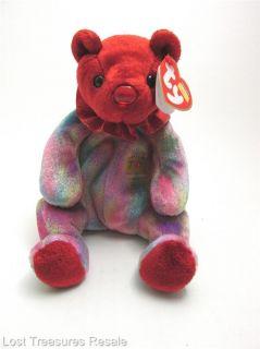 Ty Beanie Baby July Birthday Bear