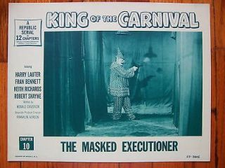 KING OF THE CARNIVAL Masked Executioner EVIL CLOWN LC