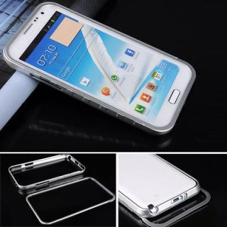 Silver Metal Aluminum Frame Bumper Case Cover For Samsung Galaxy Note