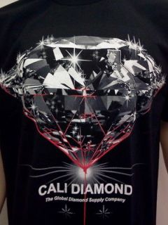 CALI DIAMOND T shirt Global Diamond Supply Company mens T SHIRT FREE