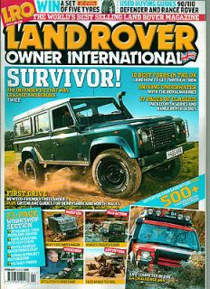 Land Rover Owner Magazine 02/09,101 CAMPER WAGON,CLUTCH CYLINDER SWAP