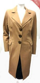CACHE Extra Long Trench Coat Light Tan Large