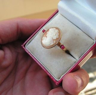 Antique Cameo Ring in Jewelry & Watches