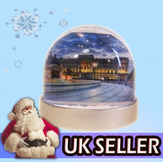 Buckingham Palace Double Sided, High Quality Snowglobe. Personalised