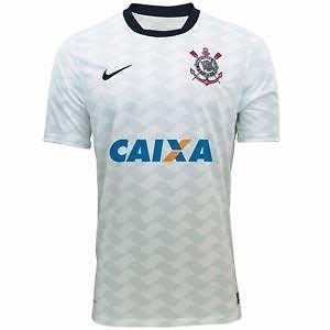 Corinthians Nike Soccer Football Jersey Maglia Brazil 2012 FIFA Club