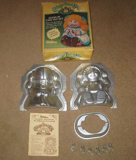 WILTON 3 D STAND UP CABBAGE PATCH KID / DOLL CAKE PAN with BOX