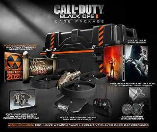 Call of Duty Black Ops 2 II Exclusive Care Package Xbox 360 UK PAL