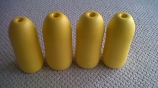 Spongex YELLOW Commercial Grade Crab Pot & Trap Buoys Four Pack 5 x