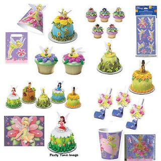 Tinker Bell Cake Decorations,Cupcake,Balloons,Party Supplies