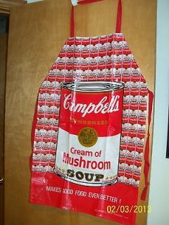 campbell soup apron