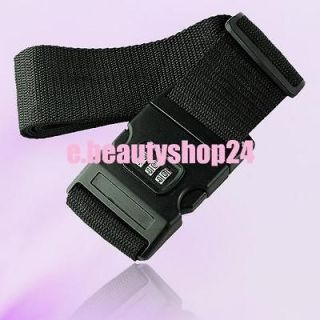 2M Luggage Package Suitcase Strap Packing Belt 3 Passwords Lock Trip