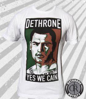 YES WE CAIN Velasquez Dethrone Royalty T shirt UFC New