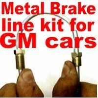 GM car Metal Brake Line Kit 1985 1986 1987 1988 1989 1990 1991 1992