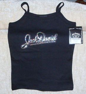 Jack Daniels {New w/Tags} Black Cami Tank size Small