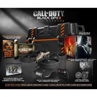 CALL OF DUTY BLACK OPS 2 II CARE PACKAGE EDITION XBOX 360 NEW Limited