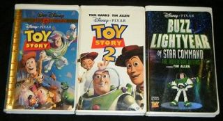 TOY Story 1 & 2 + BUZZ Lightyear OF Star COMMAND Movies
