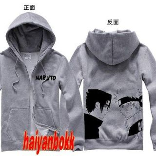 Anime Naruto Clothing Naruto Sasuke Hooded Sweatshirt Cosplay Hoodie 3