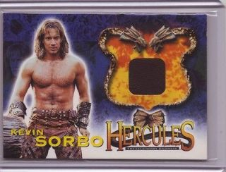Hercules The Legendary  Kevin Sorbo costume card #HC1 Xena
