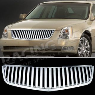 2006 2010 CADILLAC DTS FRONT CHROME UPPER GRILLE REPLACEMENT VERTICAL