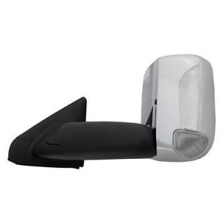 02 08 DODGE RAM 1500 CAMPER MIRROR  HEATED ELECTRIC CHROME REPLACEMENT