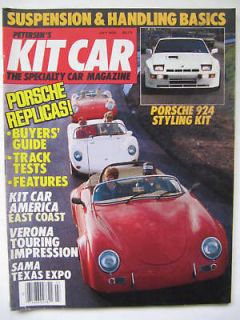 Kit Car July 1985 Porsche Replicas