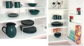 New Set of Kitchen Cabinet Pantry Storage Organizer Holder Rack 3 Pc