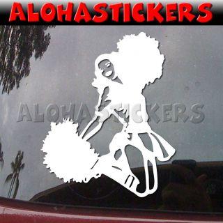 GIRL Cheer Car Truck Graphics Vinyl Decal Window Sticker G25