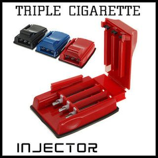 Cigarette Tube Injector Roller Maker Rolling Machine 3 Color NEW