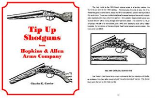 Hopkins & Allen Tip Up Shotguns   Carder