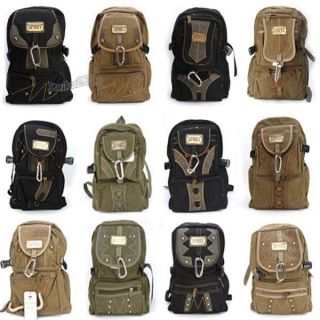 Wholesale Canvas Backpack Racksack Outdoor Sports /Camping/ Travel