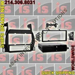 7418   Single DIN STEREO/RADIO INSTALL DASH FIT MOUNT TRIM KIT *NEW