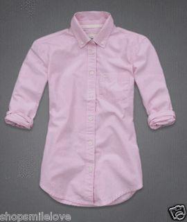 2012 NWT Abercrombie Kids AF by Hollister Girl Olivia Shirt Sz XL