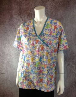 Care Bears Scrubs Top Pediatrician Nurse Grumpy Sunshine Good Night