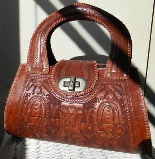 mexican tooled leather purses
