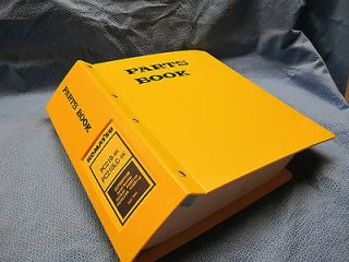 PC210 6K, PC210LC 6K Hydraulic Excavator Parts Book in Factory Binder
