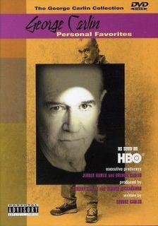 George Carlin Personal Favorites [DVD New]