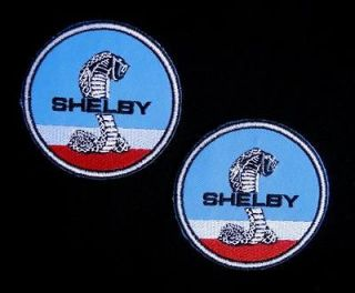 SHELBY FORD MUSTANG COBRA SNAKE CAR RACING JACKET SHIRT PATCH (2*PATCH
