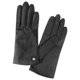 Tumi Leather Buckle Ladies Gloves with Cashmere Lining 15630D NWT $145