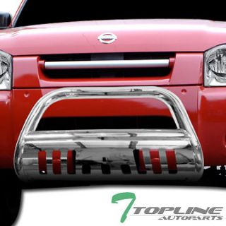 BULL BAR(brush push bumper grill guard) 2001 2004 NISSAN FRONTIER C