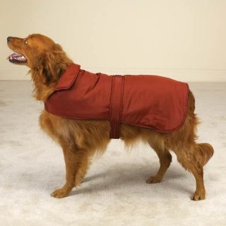 Casual Canine Pet Dog Barn Coat, Reversible, Green, Red or Navy, XS S